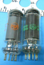 6197 VARIOUS MANUFACTURERS ELECTRON TUBES LOT OF FIVE PIECES EACH NEW OLD STOCK
