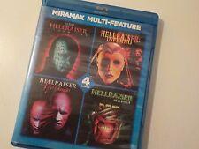 Hellraiser Miramax Multi-Feature Blu-ray 4 Movies Bloodline Inferno Hellworld
