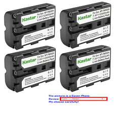 Kastar Battery Sony NP-FM500H Alpha DSLR-A350 A200 A300 A100 SLT-A57 A77 A9 II