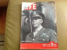 Life Magazine March 22, 1943 - WWII. Victory in the Bismarck Sea.English