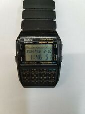 Casio DBC-62 TELEMEMO-50, CALCULATOR, WORLD TIME Vintage WRISTWATCH from 1985s