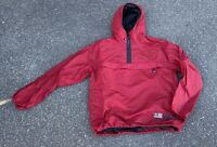 Vintage 90's Polo Jeans Red Flag Pullover Anorak Size Large