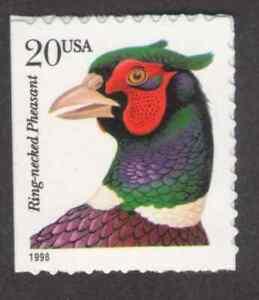 US. 3050. 20c. Ring-necked. MNH. 1999