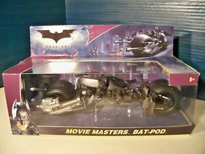 Dark Knight Movie Master Batpod new in box 2008