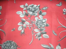 Sanderson Linen Flowers & Plants Craft Fabrics