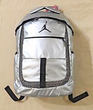 4c36308711bf Nike Air Jordan Backpack Laptop Sleeve Jump Man Logo Metallic Silver  9A1685-250