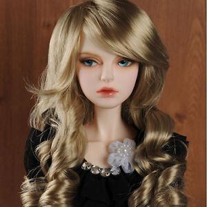 "Dollmore  1/3BJD OOAK Supplier SD wig  (8-9)""  Lady RB Wig (Brown)"