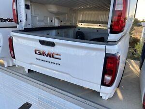 2019 2020 2021 GMC Sierra  2500 3500 8ft LONG Truck BED Tailgate Bumper Tai