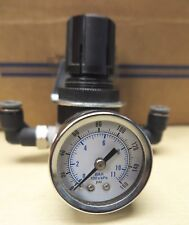 "Parker/Watt R374-02C 0-125 PSI air regulator 1/4"" NPT w/gauge 0-160 PSIG 100xkpa"