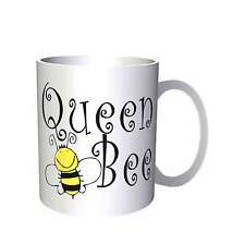 Queen Bee Yellow / Black Funny Novelty  Mug bb10