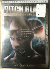 Pitch Black Dvd Animation - Unrated, Director's Cut - Vin Diesel Ship Free Tomor