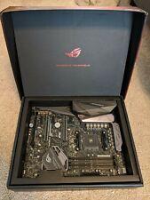 ASUS ROG CROSSHAIR VI HERO AMD AM4 X370 ATX Motherboard (90MB0SC0-M0EAY0)
