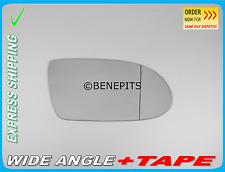 MERCEDES SLK  R171 2004-2008 Wing Mirror Glass Wide Angle + TAPE Right  /E018