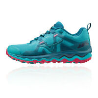Mizuno Womens Wave Mujin 6 Trail Running Shoes Trainers Sneakers Blue Sports