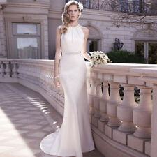 Elegant New white/ivory Mermaid Wedding Dress custom size 2-4--18-20-22 +28+