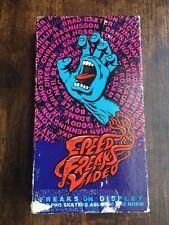 Speed Freaks Video (VHS 1989) Santa Cruz Rare