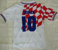 1998 Croatia 10 BOBAN retro classic soccer football team home t-shirt jersey tw