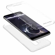 Komplettschutz Samsung Galaxy J4+ Plus✔Silikon✔Full Cover Case✔Handyhülle✔TPU