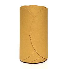 """SANDING DISC, 5"""", 400 grit, Stick Back (PSA) Abrasive Sandpaper Link Roll, 25 ct"""