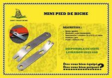 Hultafors 827023 Pied-de-biche108 Mini Argent//Rouge
