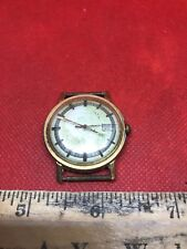 "Vintage Rare 1975 Timex Mercury wind up mens watch ""16561 02575"" <Parts/Repair>"