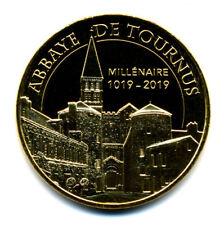 71 TOURNUS Abbaye, Millénaire 1019-2019, 2018, Monnaie de Paris