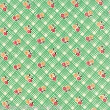MODA Fabric ~ 30's PLAYTIME ~ Chloe's Closet (33043 17) Green - by 1/2 yd