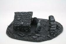 BZB10 JAVIS Battle Zone Derelict Building type 10 resin scenery