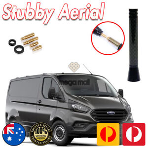 Antenna / Aerial Stubby Bee Sting for Ford Transit Custom Black Carbon 7.5 CM