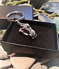 Handmade Little Car VW Beetle Keyring / Handbag Charm First Car Gift