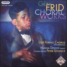 Geza frid œuvres chorales, New Music