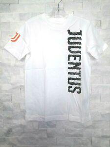 adidas 2020-21 JUVENTUS YOUTH GRAPHIC T-SHIRT (FR4232) WHITE-BLACK-ORANGE