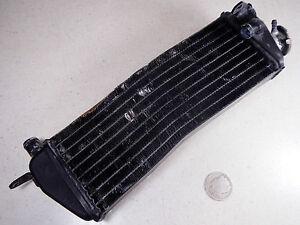 86 KTM 350 MXC Derecho Lateral Radiador