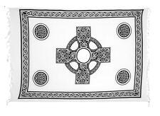 Sarong / Pareo / Strandtuch - Weiss mit Keltischen Motiv