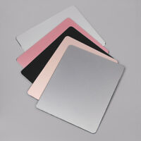Aluminum Alloy Mouse Pad Metal Ultra Thin Gaming Mice Mat For PC Laptop MacBook