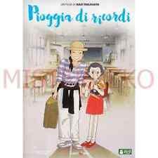 DVD - Pioggia di Ricordi - Studio Ghibli - Hayao Miyazaki