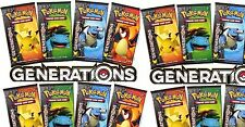 Lot of 36 X Pokemon Generations Booster Packs Sealed Unsearched Pack Boosters