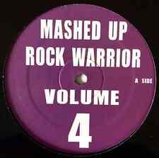 """UNKNOWN ARTIST - Mashed Up Rock Warrior Volume 4 EP (12"""") (VG+/NM)"""