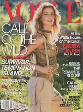 VOGUE MAGAZINE VINTAGE  JUNE 2001 US