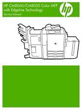 HP Color Laserjet CM8060 / CM8050 MFP Printer Service Manual (Parts & Diagrams)