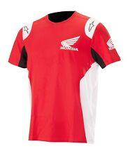 T-shirt Alpinestars Honda Red Gr. L Herren Kurzarm