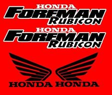 Honda Foreman 500 Trx500  Rubicon Stickers Decal Emblem Kit Of 4 2002