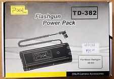 NEW Pixel AA Battery Pack TD-382 for Nikon Speedlight Flash SB-900