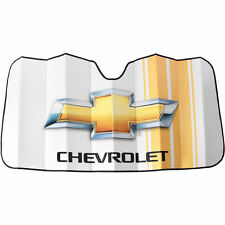 1 piece sunshade White Gold Bubble Sun Shade for Chevy Chevrolet Car Truck SUV