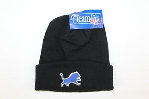 Detroit Lions Vintage 90s Unisex New DEADSTOCK Winter Beanie Hat