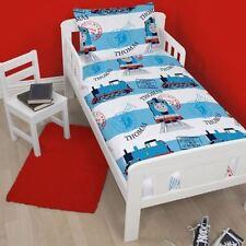 Ropa de cama Thomas color principal azul de poliéster para niños