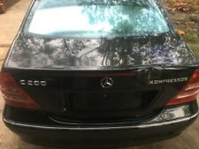 Bootlid from Mercedes c200