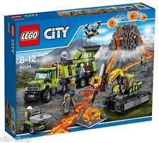 LEGO CITY BASE DELLE ESPLORAZIONI VULCANICA - LEGO 60124
