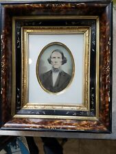 Antique Ornate Victorian Shadow Box Frame With Photo