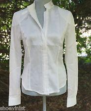 Belstaff Silky Cotton Parsley Shirt Long Sleeve Size EU 46 Zippered NWT